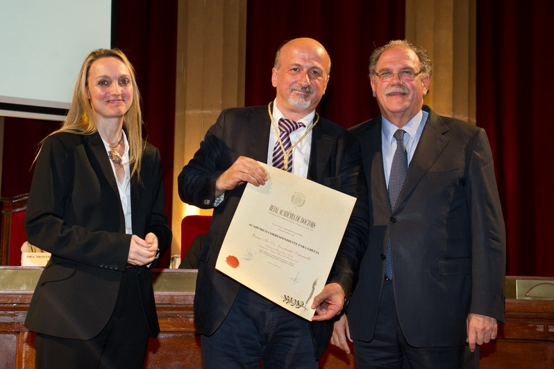 Inderscience Editor inducted into Spanish Royal Academy of Doctors