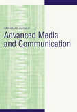International Journal of Advanced Media and Communication