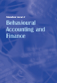International Journal of Behavioural Accounting and Finance (IJBAF)