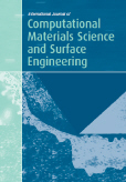 International Journal of Computational Materials Science and Surface Engineering (IJCMSSE)