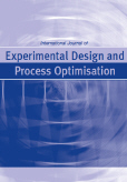International Journal of Experimental Design and Process Optimisation (IJEDPO)