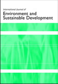 International Journal of Environment and Sustainable Development