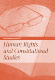 International Journal of Human Rights and Constitutional Studies (IJHRCS)