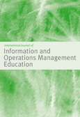 International Journal of Information and Operations Management Education (IJIOME)