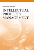 International Journal of Intellectual Property Management (IJIPM)