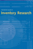 International Journal of Inventory Research (IJIR)