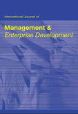 International Journal of Management and Enterprise Development (IJMED)