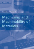 International Journal of Machining and Machinability of Materials