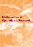 International Journal of Mathematics in Operational Research (IJMOR)