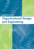International Journal of Organisational Design and Engineering