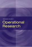 International Journal of Operational Research (IJOR)