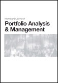 International Journal of Portfolio Analysis and Management (IJPAM)