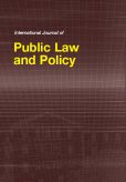 International Journal of Public Law and Policy (IJPLAP)