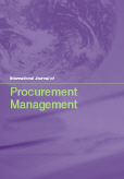 International Journal of Procurement Management