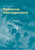 International Journal of Revenue Management (IJRM)