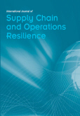 International Journal of Supply Chain and Operations Resilience (IJSCOR)