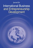 Journal for International Business and Entrepreneurship Development