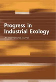 Progress in Industrial Ecology, An International Journal