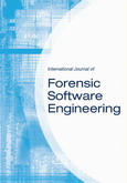 International Journal of Forensic Software Engineering